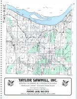 Map Image 008, Pope and Hardin Counties 2000